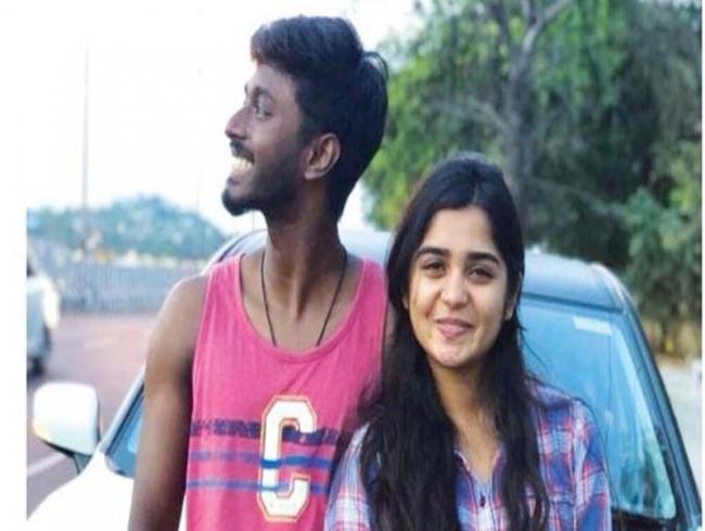 Adhithya Bhaskar wishes his 'jaanu' on her b'day