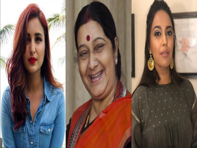 RIP Sushma Swaraj: Parineeti to Swara, Bollywood mourns death of ex-foreign minister