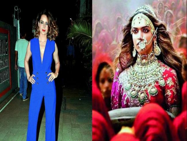 Kangana won't support Deepika Padukone