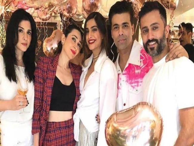 Star-studded birthday bash for Sonam Kapoor
