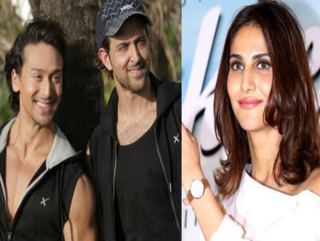 It's official: Hrithik to romance Vaani Kapoor in Tiger starrer action film