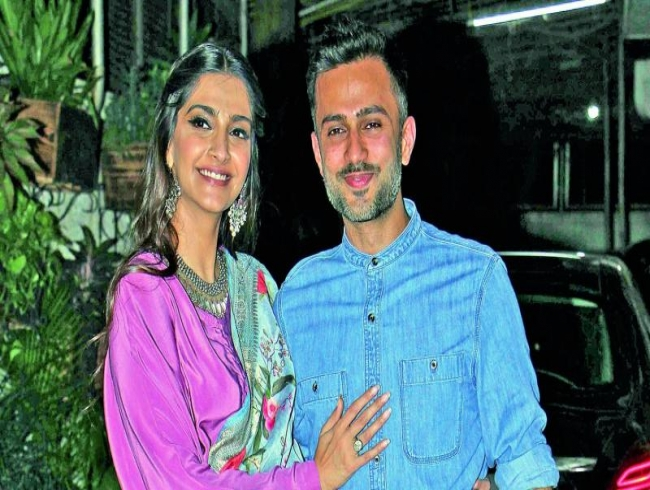 You're my guiding star: Anand Ahuja to Sonam Kapoor