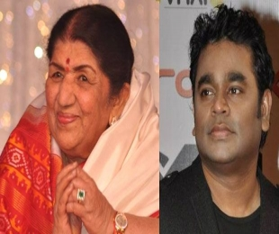 Lata Mangeshkar and A R Rahman provide melodious relief to wounded souls in Peshawar
