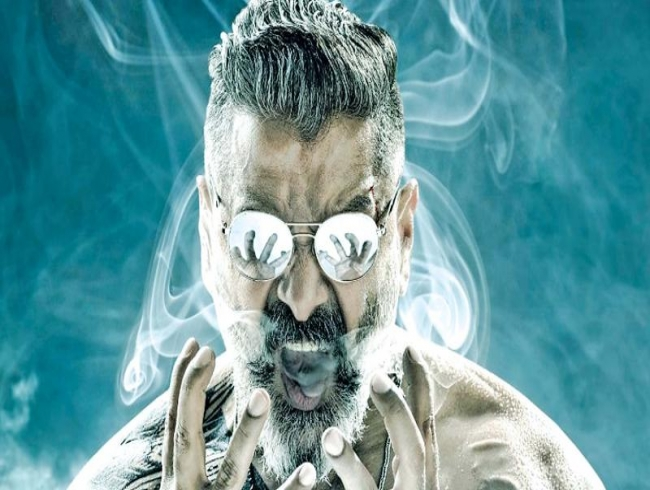 First look & title of Vikram's film with Kamal Haasan unveiled