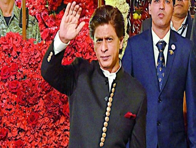 Shah Rukh Khan's web rendezvous