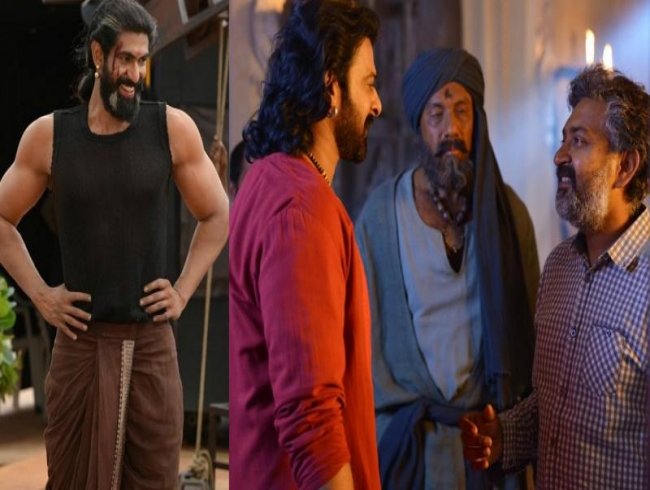 These behind-the-scenes photos from Baahubali 2 sets are a visual delight