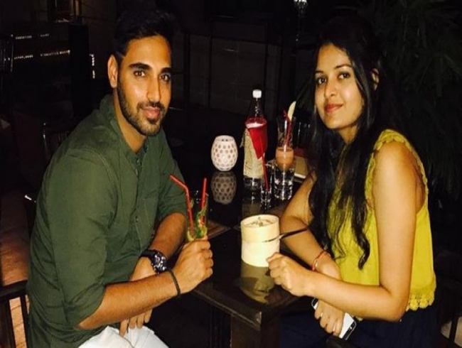 Here's the photo! Bhuvneshwar Kumar's Instagram photo reveals his 'better half'