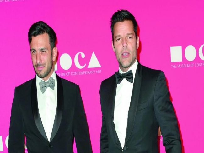 Ricky Martin confirms he's married!