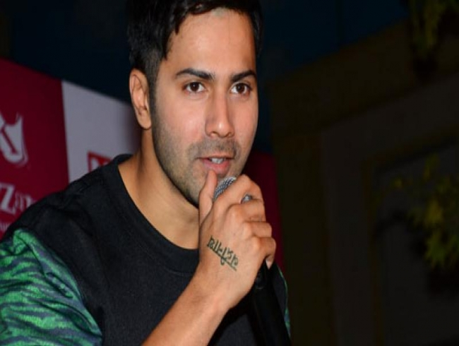Varun Dhawan believes the ladies in October are real stars of the film