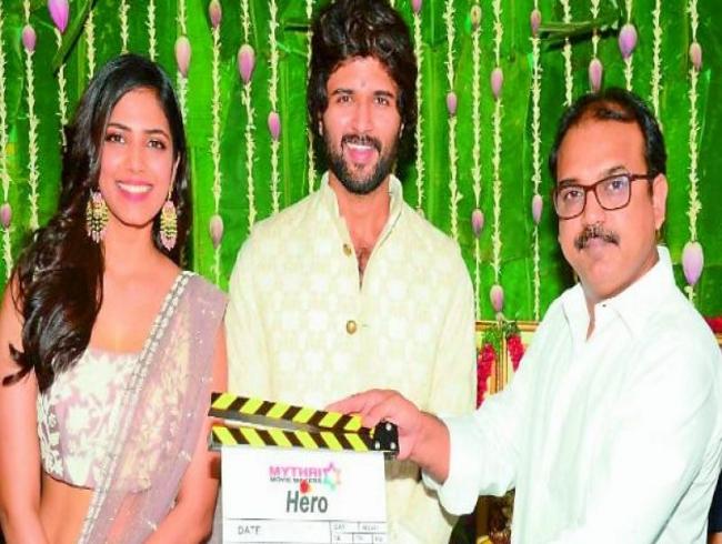 Vijay Deverakonda's sports drama rolls out