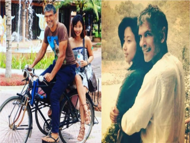 'Is she your daughter?': Fans ask Milind Soman after he shares gf's pics