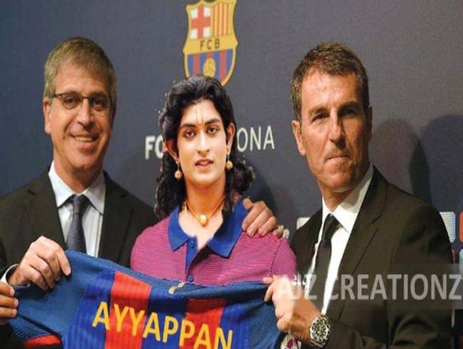 Swamiye Ayyapo sets Barca's score