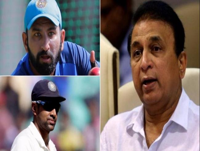 Sunil Gavaskar targets Team India's Cheteshwar Pujara, R Ashwin over fielding
