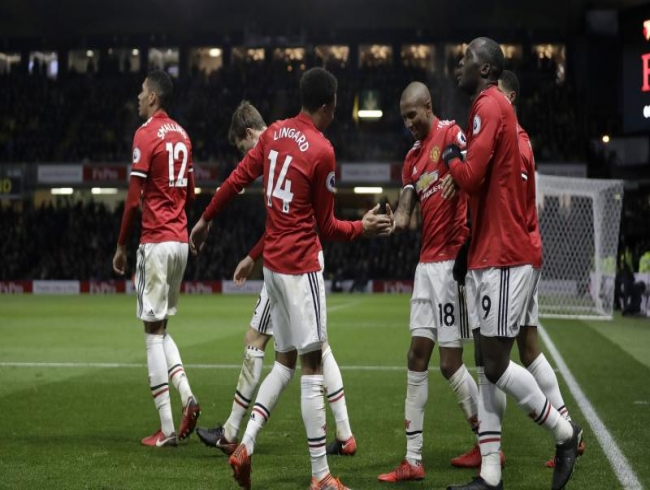 Premier League: Old boy Ashley Young downs Watford to lift Manchester United