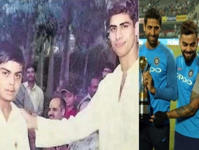 India skipper Virat Kohli comments about Ashish Nehra and their old picture together
