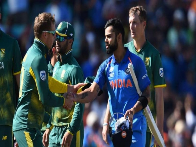 India firm favourites against South Africa, feels Sourav Ganguly
