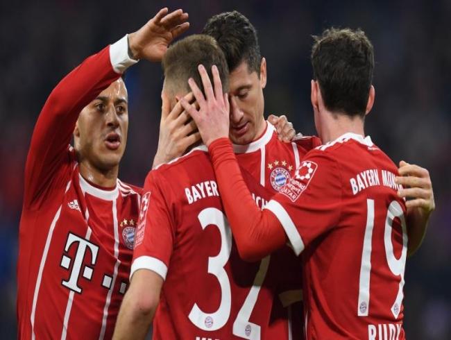 Champions League: Thiago Alcantara grabs winner as Bayern come back to beat Sevilla