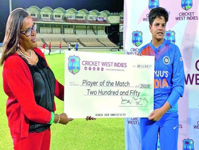 Shafali Varma has filled slot left vacant by Mithali Raj