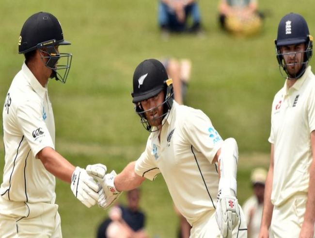 Kiwi captain Kane Williamson hails 'hard work' to save Test, seal England series win