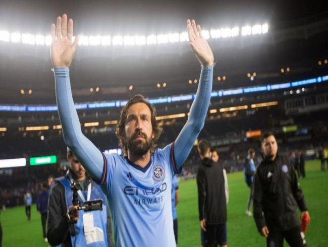 Italy and AC Milan legend Andrea Pirlo retires after final game for New York City FC