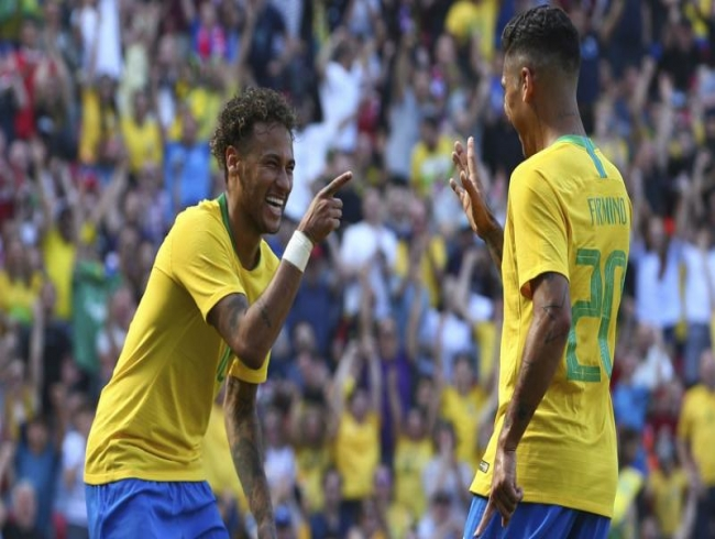 2018 FIFA World Cup: Neymar returns with a bang as Brazil sink Croatia in warm-up
