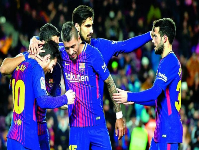 La Liga: Barcelona blank Levante