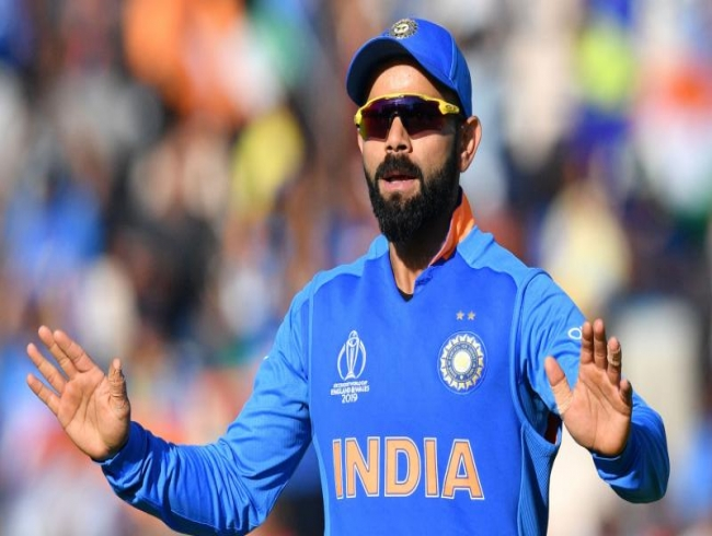 ICC CWC'19: Kohli fined for excessive appealing during Afghanistan clash