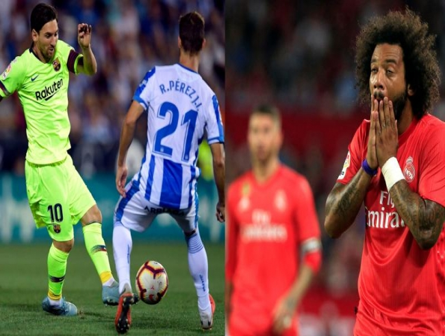 La Liga: Leganes down Barcelona, Real Madrid lose against Sevilla