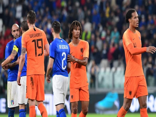 Nathan Ake scores equaliser as Netherlands draw with Italy in friendly game