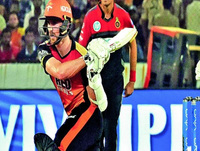 Sunrisers sink Royal Challengers Bangalore's playoffs hopes