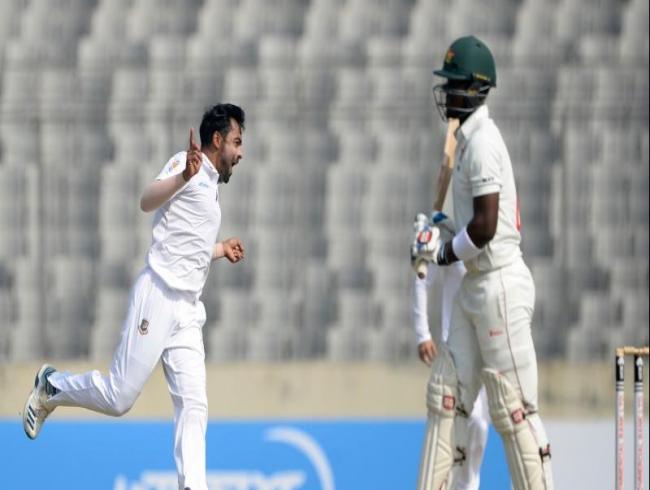 Bangladesh beat Zimbabwe by an innings and 106 runs to seal 1-match series
