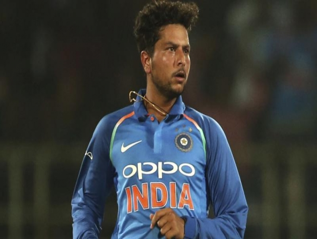 It was very difficult bowling in the dew, says Kuldeep after India-Windies Vizag tie