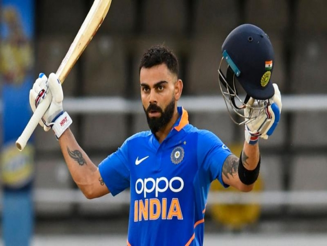 Virat Kohli's ton helps India beat West Indies by 6 wickets