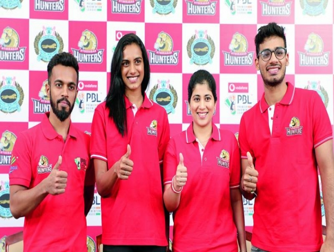 Sindhu leads Hyderabad's hunt in badminton league
