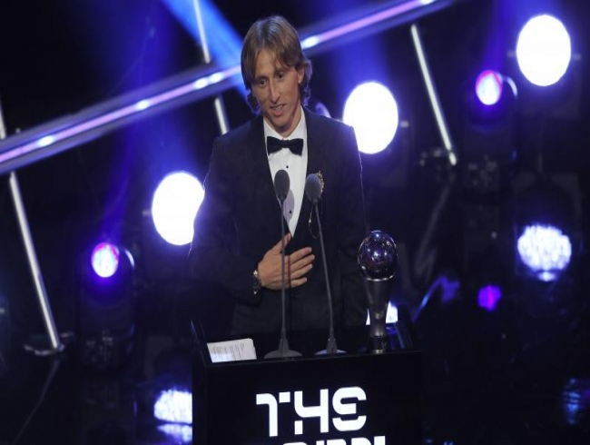 Luka Modric pips Cristiano Ronaldo, Mo Salah for FIFA Men's Player of the Year 2018