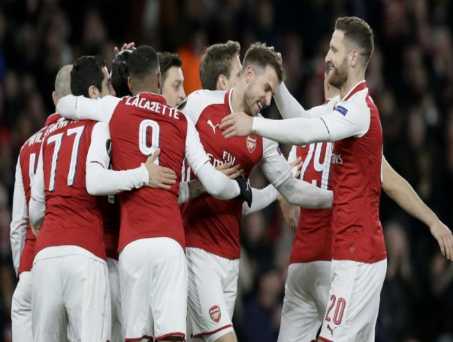 UEFA Europa League: Arsenal cruise to semis despite thrilling 2-2 draw vs CSKA Moscow