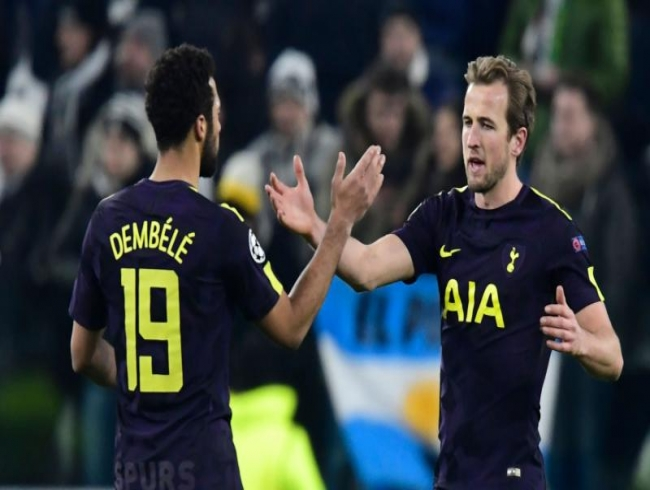 Champions League: Harry Kane scores in Tottenham Hotspur 2-2 draw at Juventus