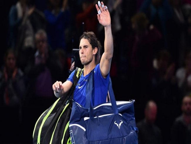 Nitto ATP Finals: Wounded Rafael Nadal pulls out after losing to David Goffin