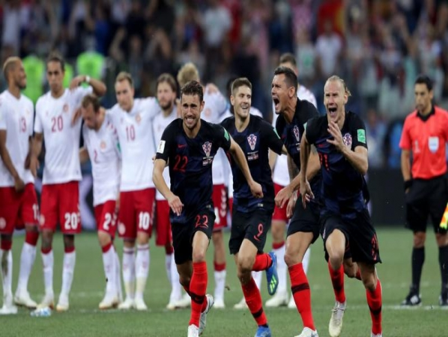 Croatia beat Denmark on penalties to reach World Cup last eight