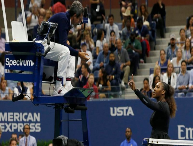 Serena Williams' US Open sexism row latest to put tennis umpires in spotlight