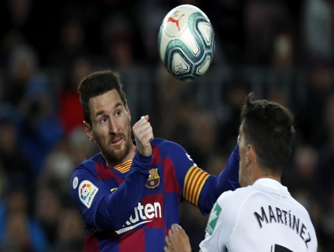 'When the ball reaches Messi's feet there is high probability it is going in the net'