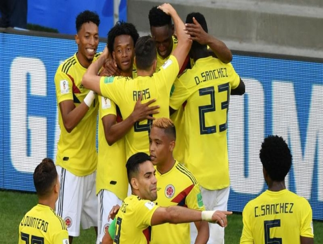 FIFA World Cup: Heartbreak for Senegal as Yerry Mina guides Colombia to knockouts
