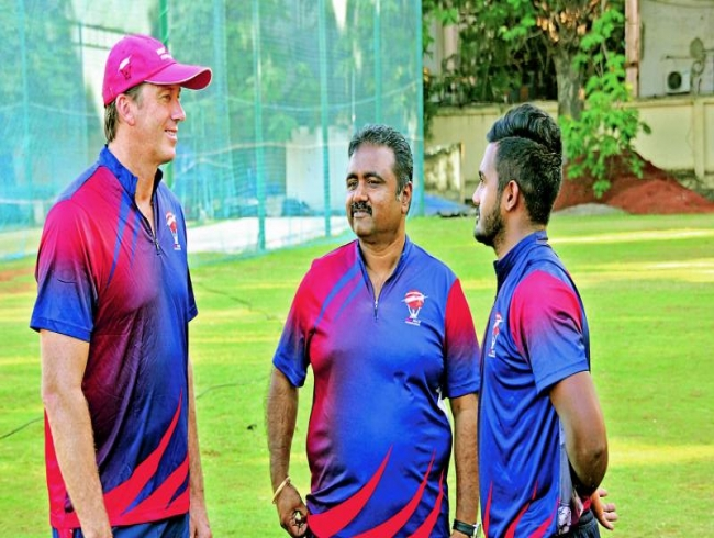 Indian pacers get pat on back from McGrath