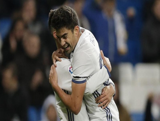 Zidane's son scores as Real Madrid rout Leonesa 6-1 in Copa