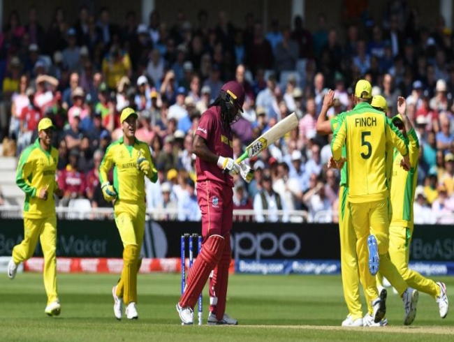 ICC CWC'19: Starc, Coulter-Nile, Smith helps Australia to defeat WI by 15 runs