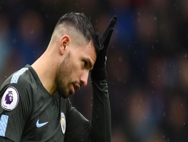 Premier League: Manchester City's Sergio Aguero out for two weeks due to knee injury