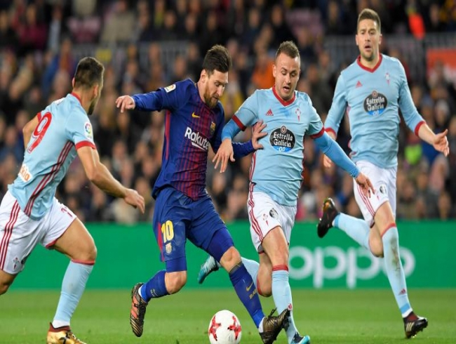 Copa del Rey: Lionel Messi masterclass helps Barcelona crush Celta Vigo
