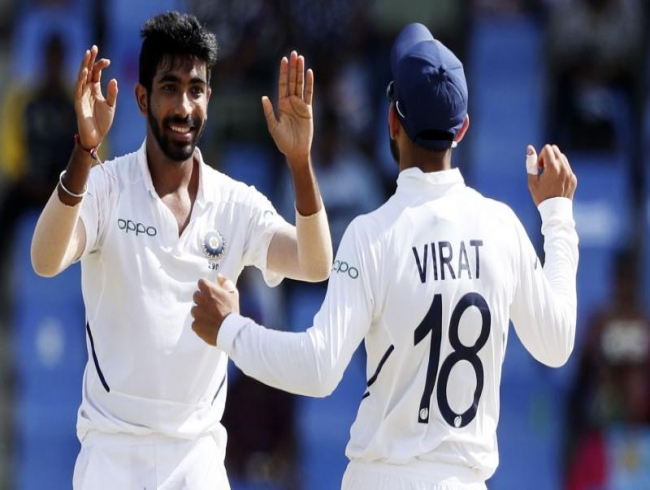 Jasprit Bumrah surpasses Ashwin, becomes fastest Indian to scalp 50 Test wickets