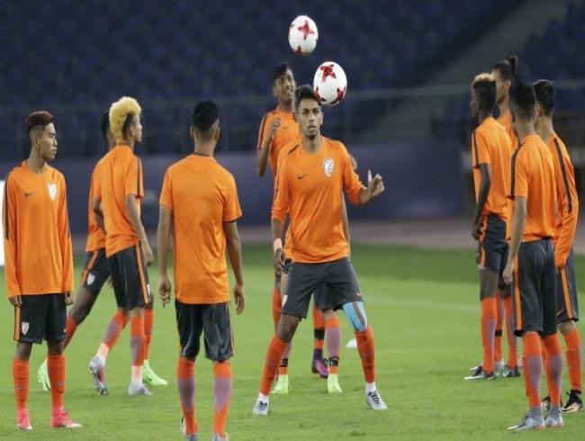 Fifa U-17 World Cup : Debutants India set to take on formidable USA