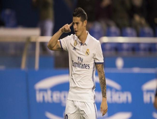 Real Madrid hit Deportivo for six, Barca relegate Osasuna